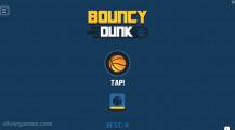 Bouncy Dunk: Menu