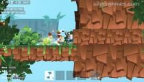 Bullet League Robogeddon: Gameplay Pig Fight