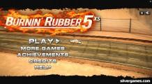 Burnin Rubber 5: Menu