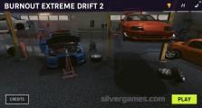 Burnout Extreme Drift 2: Menu