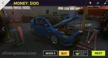 Burnout Extreme Drift 2: Car Selection