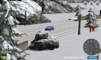 Burnout Extreme Drift: Car Drifting Snow