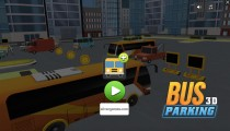 Bus Parking 3D: Menu