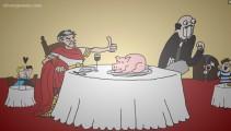 Caesar's Day Off: Caesar Dinner Gameplay