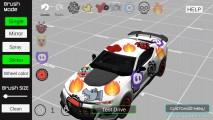 Car Painting Simulator: Gameplay Car Sticker
