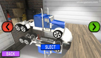 Car Transport Truck Simulator: Truck Selection