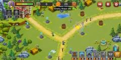 Castle Defense: Gameplay Tower Defense