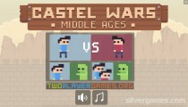 Castle Wars Middle Ages: Menu