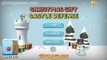 Christmas Castle Defense: Menu
