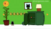 Christmas Cat: Gameplay Finding Christmas Bells