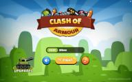 Clash Of Armour: Menu