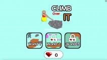 Climb Over It: Menu