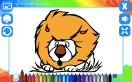 Coloring Book: Animals: Coloring Book Lion