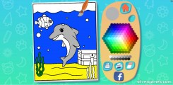 Coloring Game For Kids: Gameplay