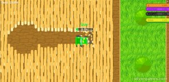 Combines.io: Gameplay Collecting Grain
