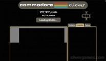 Commodore Clicker: Pixel Gameplay