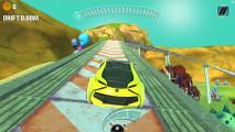 Concept Car Stunt: Gameplay Drifting