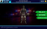 Cop Driver Simulator: Menu