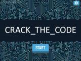 Crack The Code: Menu