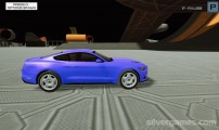 Crazy Car Crash Stunts Bowling Edition: Mustang Sports Car