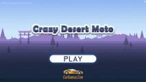 Crazy Desert Moto: A Menu