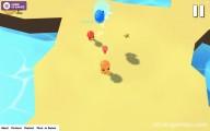 CrazyJump.io: Gameplay Fighting Opponents Funny Island