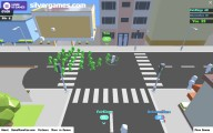 Crowded City.io: Gameplay Multiplayer Io