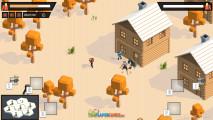Cube Battle Royale: Shooting Enemies