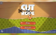 Cut The Rope: Menu