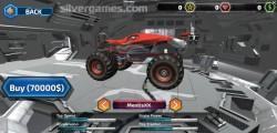 Cyber Cars Punk Racing: Menu