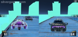 Cyber Cars Punk Racing: 2 Player Race