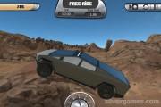 Cyber Truck Simulator: Gameplay Offroad Car