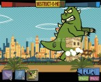 Days Of Monsters: Gameplay Dino Destruction