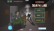 Death Lab: Menu