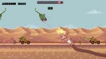 Death Worm: Helicopter Attacking Worm