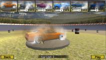 Demolition Derby Simulator: Menu