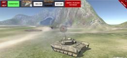 Derby Crash 4: Tank Shooting Gameplay