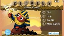 Dibbles 3: Desert Despair: Menu