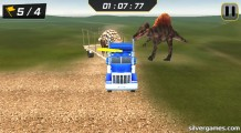 Dino Transport Truck: Gameplay
