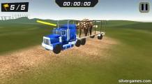 Dino Transport Truck: Transport Simulator