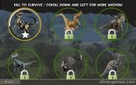 Dinosaur Survival Simulator: Level Selection Dino