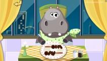 Dr.Panda Restaurant: Rhino Eating Dining