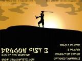 Dragon Fist 3: Menu