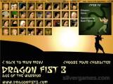 Dragon Fist 3: Character Selection