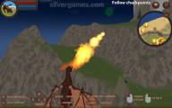 Dragon Simulator 3D: Dragon Spitting Fire
