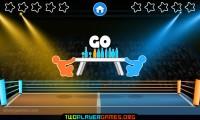 Drunken Table Wars: Gameplay Duell One Button