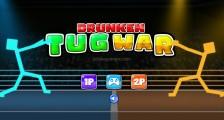 Drunken Tug War: Menu