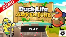 Duck Life: Adventure: Menu Funny Ducks