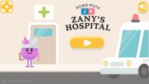 Dumb Ways JR Zanys Hospital: Menu