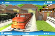 Electric Train Simulator: Menu